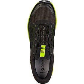 Salomon XA Elevate GTX Kengät Miehet, black/lime green/black